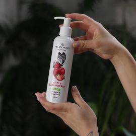 Пом'якшувальне молочко для тіла Яблоко та Полуниця Body Milk Emollient Apple Strawberry