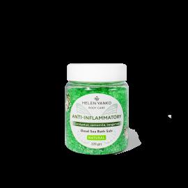 Сіль для вани Мертвого моря Протизапальна Dead Sea Bath Salt ANTI INFLAMMATORY (Eucalyptus, Camomile, Bergamot)