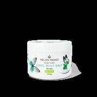 Соляний антицелюлітний охолоджуючий скраб для тіла Cool Mint Salt Scrub, 450г