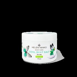 Соляний антицелюлітний охолоджуючий скраб для тіла Cool Mint Salt Scrub